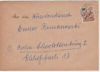 Germany 1949 Berlin Overprint Berlin N Cancel Stamps Cover Ref 24079
