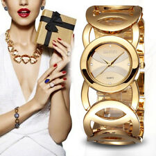 HOT SELLING Luxury Women Watch Famous Brands Gold Fashion Design Bracelet Watch