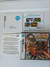 GENUINE Pokemon PLATINUM VERSION - Nintendo DS - Case Only