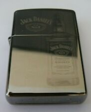 More details for alcohol jack daniels bottle zippo lighter free p&p free flints