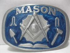 Mason - Pewter Belt Buckle #1802 -