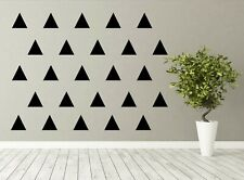 Triangle Wall vinyl stickers / decals, various sizes, Laptop, Glass, Craft Etc..