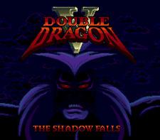 Double Dragon V The Shadow Falls - Sega Genesis Game Only