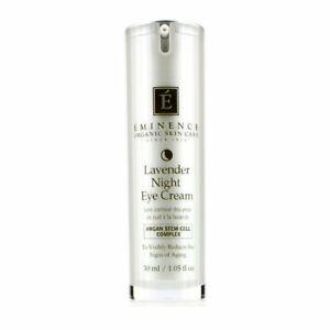 Eminence Lavender Age Corrective Night Eye Cream 1.05 oz New Open Box