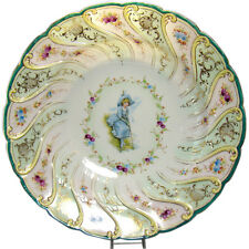 Dresden Porcelain Portrait Bowl - 1910