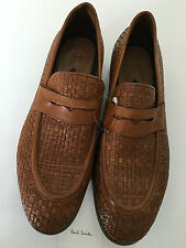 "Paul Smith Loafers ""MAINLINE"" LEOPARDO HERNEX TAN UK9 EU43 RRP £390"