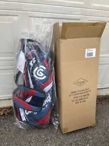 Cleveland Golf - 14 Way Stand Golf Bag - USA - Red/White/navy blue new