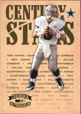 2005 Throwback Threads Century Stars #24 Troy Aikman - NM-MT