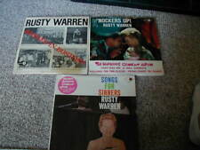 Lot Of 3 Rusty Warren - Banned In Boston Vinyl Lp Record Album. Knockers Up, Son