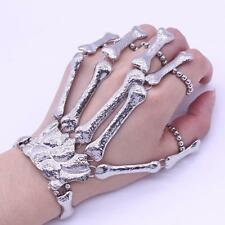 Punk Gothic Devil Talon Skeleton Skull Bone Hand Finger Ring Bracelet Hot nett