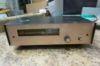 Vintage Harman Kardon The Tempo FM Tube Tuner F-10/F10- As Is for Parts / Repair