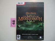 El Señor de los anillos batalla por la tierra media II 2 Edición Coleccionista PC LOTR