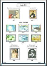 Album de timbres Italie 2014 à imprimer