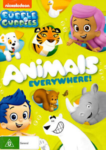 Bubble Guppies Animals Everywhere! -DVD Series Rare Aus Stock -Family New