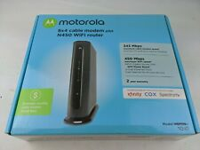 motorola cable modem plus router MG7310 8x4 343Mbps + N300 Wi-Fi