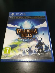 Valhalla Hills Definitive Edition PS4 Game, Brand New & Sealed, 1st Class Post