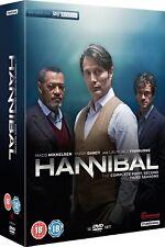 HANNIBAL 1-3 (2013-2015) FBI Lecter KIller Drama TV Season Series  R2 DVD not US