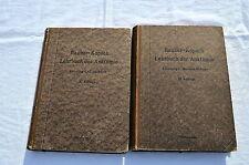 2 Bücher Rauber Kopsch Lehrbuch der Anatomie Nr 3 Muskel Gefässe & 4 Eingeweide