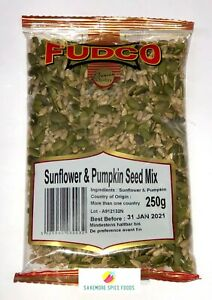 SUNFLOWER AND PUMPKIN SEED MIX - FUDCO - 250g