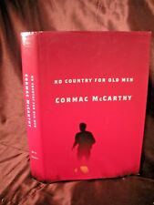 NO COUNTRY FOR OLD MEN Cormac McCarthy HC/DJ stated 1st VG Condition Clean Tight