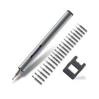 Mini Electric Screwdriver Potable Disassembling Repair Tool Kit Cellphone K6U9