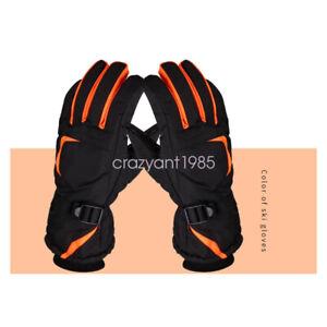 Winter Touchscreen Outdoor Sport Waterproof Ski Snowboard Cycling Gloves for Men