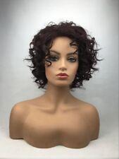 FIXSF991  newest popular style short curly hair wig wigs dark brown women
