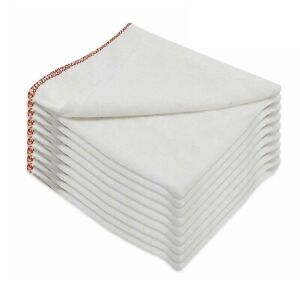 Large Dish Cloths 100% Cotton Rich Cleaning Cloth Washing Drying Dishes 35x45 cm