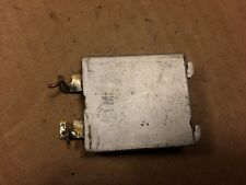 Vintage Made in Germany 1 uf Bathtub Oil Capacitor for tube amp Tests Good