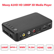 Measy A1HD Smart 3D Hard Disk Full 1080P HDMI HDD Media Player + Remote Control