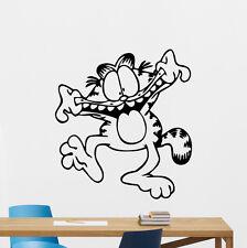 Garfield Wall Decal Cartoon Cat Nursery Kids Vinyl Sticker Art Decor Mural 62zzz