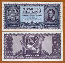 Hungary, 10,000,000,000,000 pengo 1945, P-129 UNC