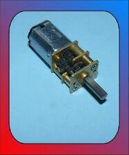 Motor DC / 12 Volt / 2 - 50 rpm Kirmes Faller 12Volt Getriebemotor 12V