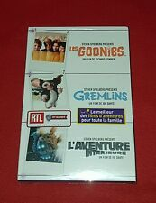 Coffret DVD les Goonies / Gremlins / l'Aventure Intérieure