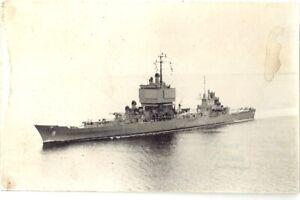 USS Long Beach (CGN-9) RP. Italian frank/stamp on rear.