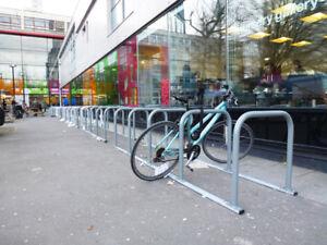 4 Hoop 8 Cycle Sheffield Toast rack Cycle Stand