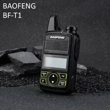 BAOFENG T1 Walkie-Talkie Headset UHF 400-470MHz Two Way FM Radio Transceiver VOX