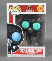 Funko POP Incredibles 2 #369 Screen Slaver Vinyl Figure 1088V