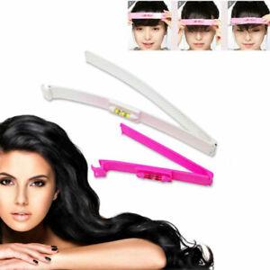 DIY Bangs Hair Trim Cutting Clip Comb Fringe Hair Cutting Barrettes Hairpins