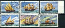 San Tommaso e il principe Isole 1979 Mi. 598-603 Usato 100% Navigazione Barche