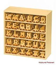 Holz Buchstabenzug Kinderzimmer  A-Z  Namen  Holzbuchstaben Buchstaben Kinder