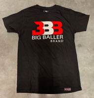 Big Baller Brand/Classic BBB Black Red/White/Red Tee