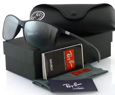86d6f16eaf8 RAY-BAN LITEFORCE RB4179 601S82 62MM MATTE BLACK   POLARIZED SILVER MIRROR
