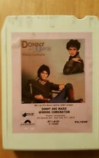 Donnie and Marie winning combination  8 track
