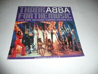 """12""""x12"""" Cardboard Promo Card for the Abba tribute single """"Thank Abba for...."""""""