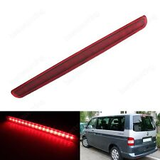 1x 18 SMD Rear Lamp Red Lens LED High Level Brake Light VW T5 Transporter 03-15