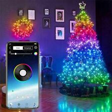 Árbol De Navidad Luces Led Smart Blootooth Personalizado Cadena De Luces Control de la aplicación