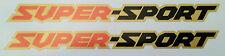 HONDA CBX CBX1000 CBX1000Z SUPER-SPORT PETROL TANK DECALS