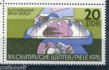 ALLEMAGNE DDR 1975, timbre 1781, SPORT, PATINOIRE, JEUX OLYMPIQUES, neuf**