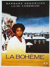AFFICHE - LA BOHEME BARBARA HENDRICKS LUIGI COMENCINI